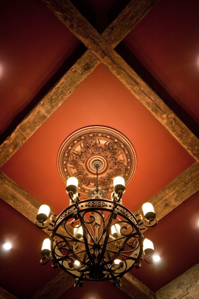 Antique Wood Ceiling Beams