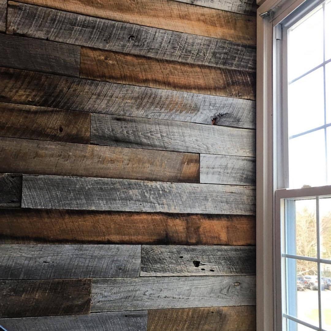 Barn Siding Accent Wall