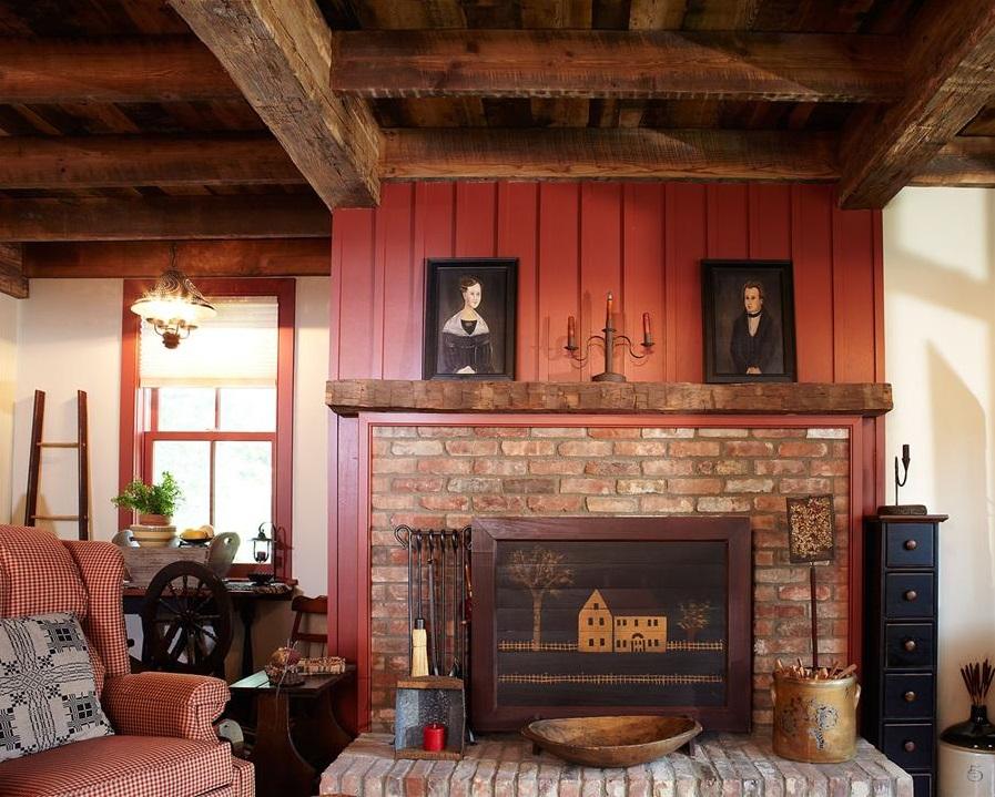 Beam Fireplace Mantels - Image 1.jpg