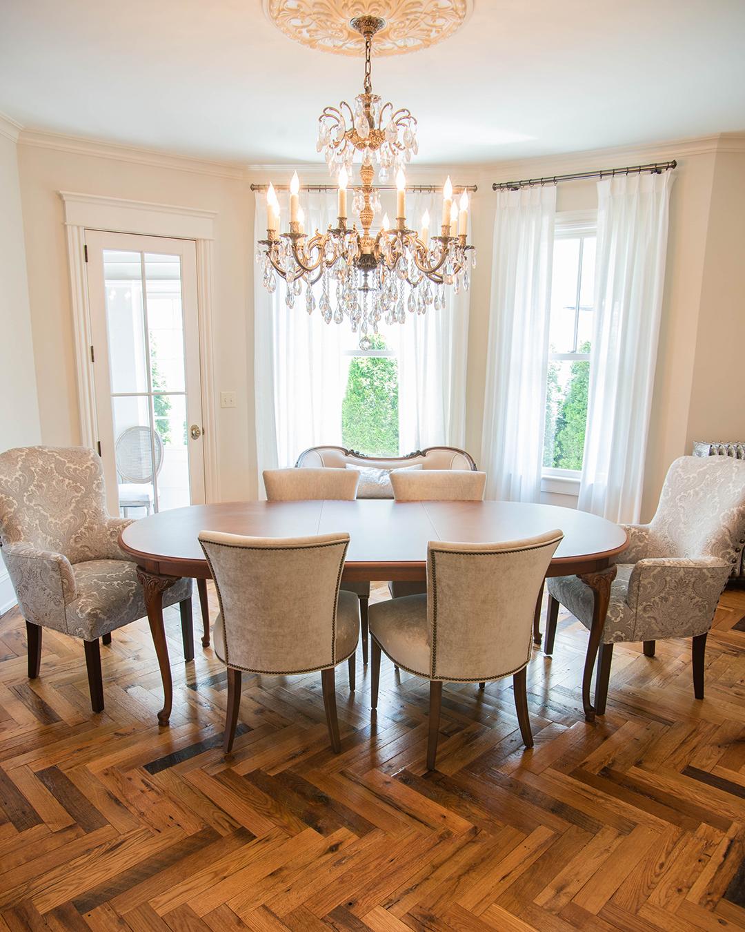 Reclaimed Herringbone American Classic Flooring