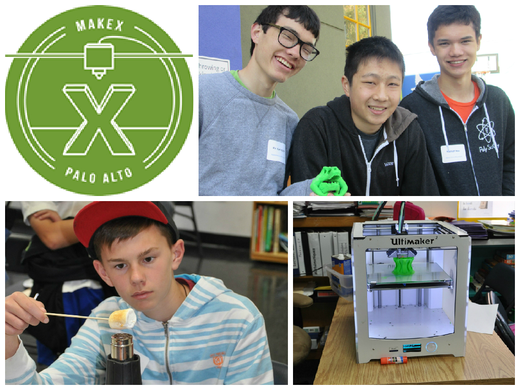 MakeX Mentors: Kai Gallagher, James Wang, and Nathan Kau, Workshop Leaders