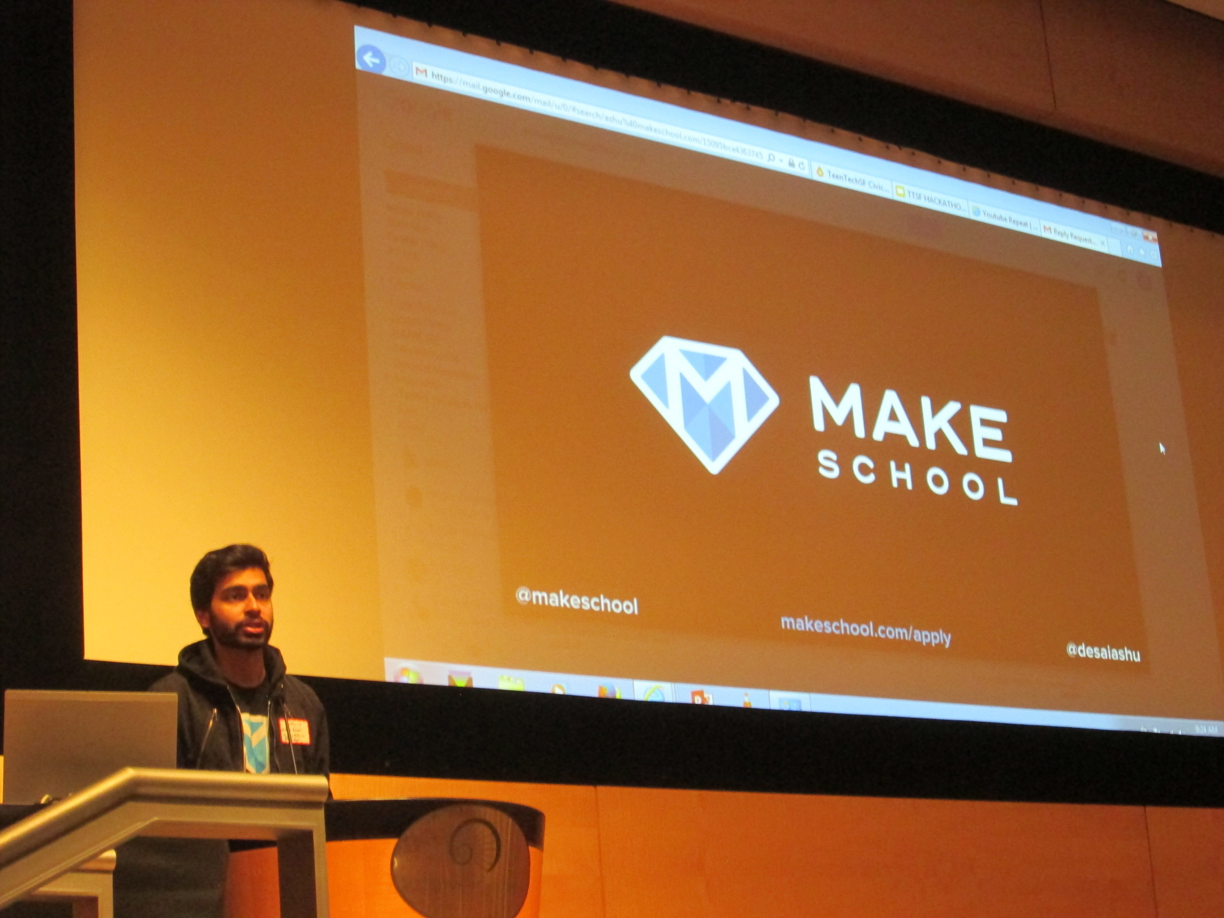 Welcome from Ashu Desai, Co-founder MakeSchool