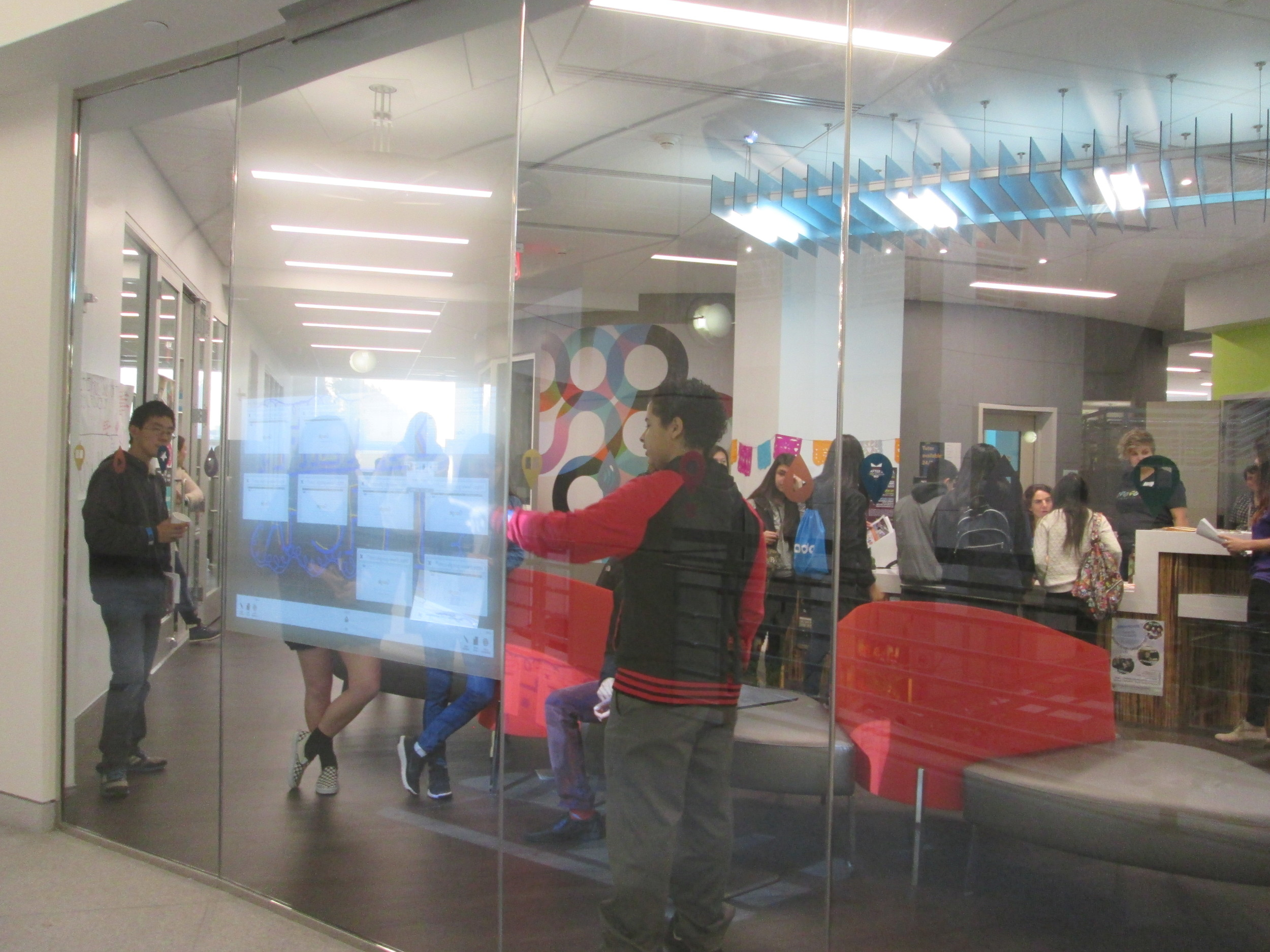 Welcome to The Mix at SFPL: Digital Wall