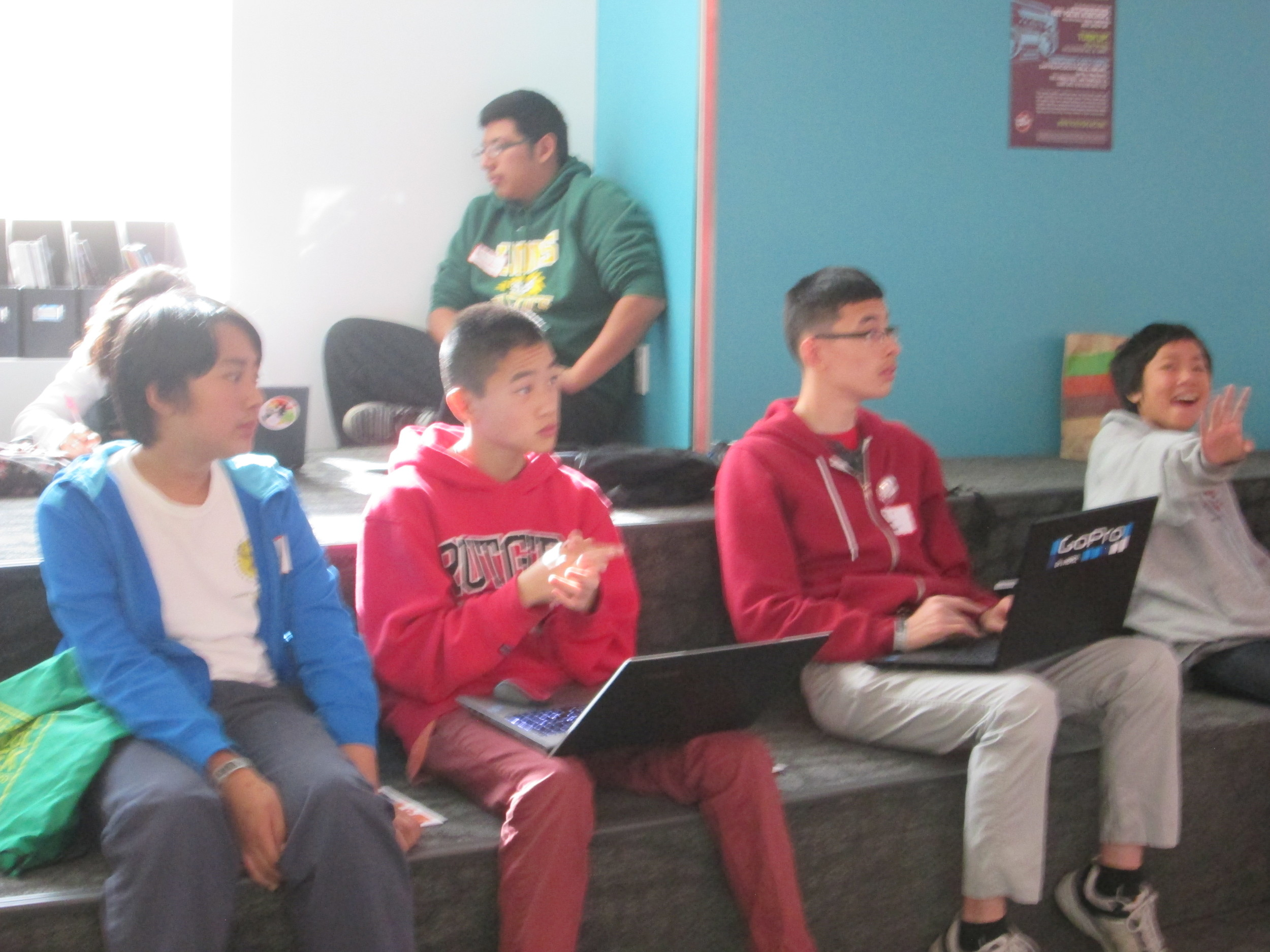 Student hackers learn coding principles behind game design