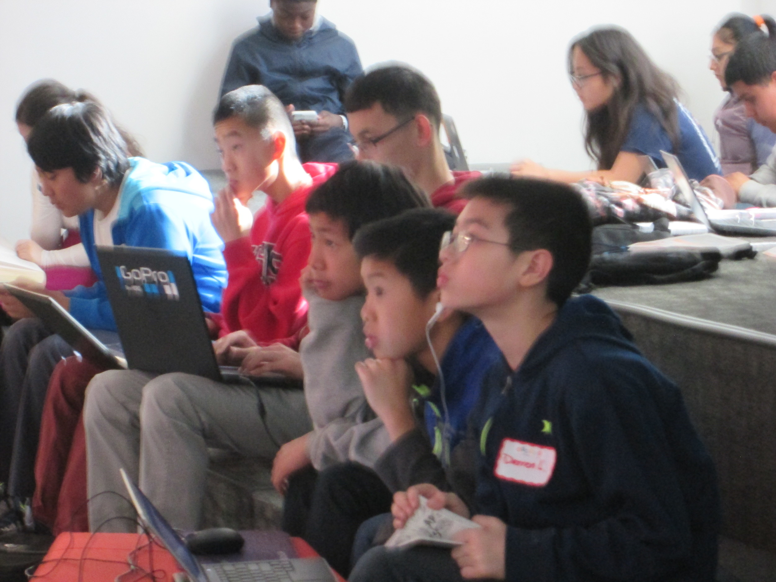Student hackers transformed from game players to game coders