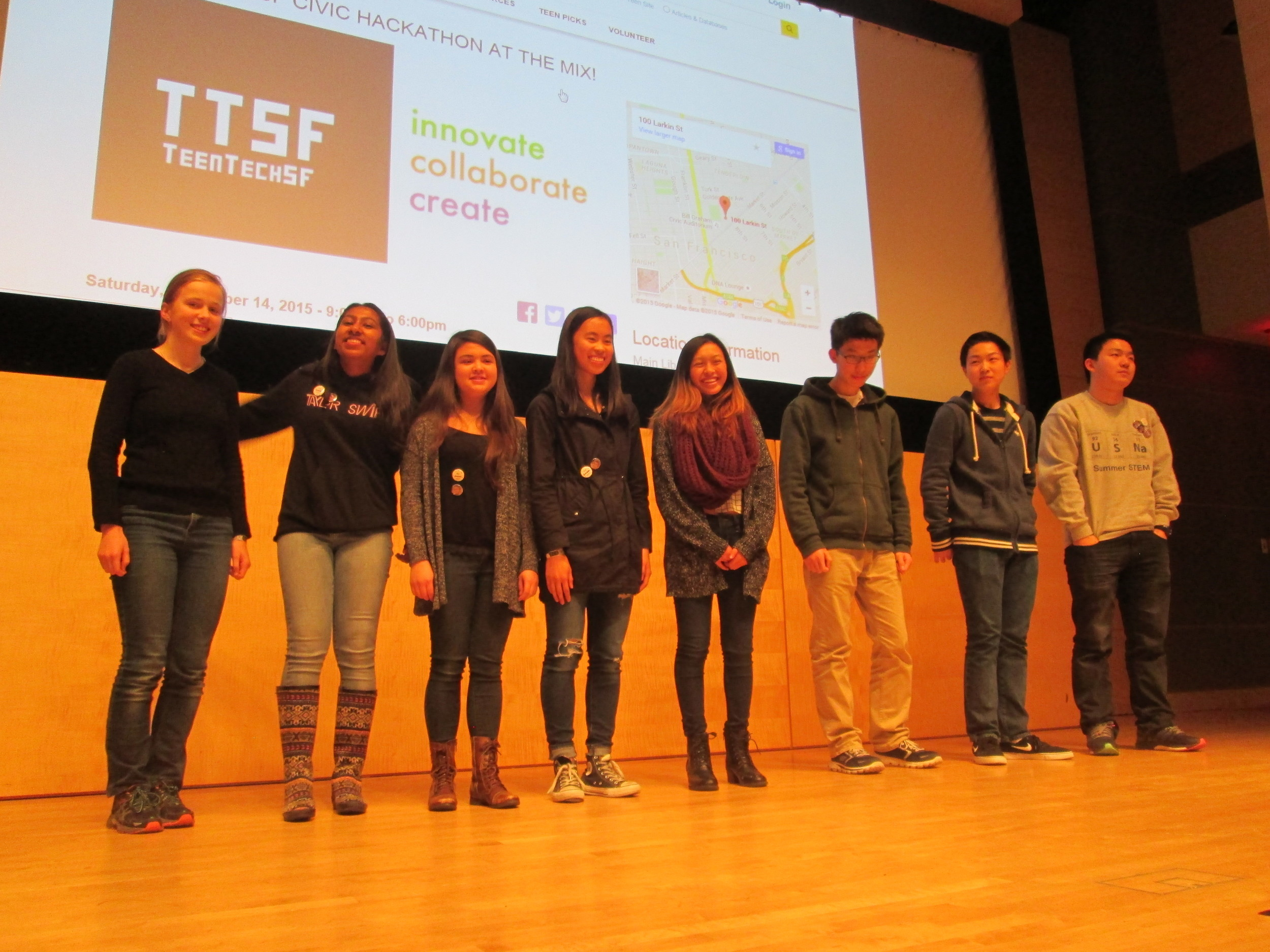 Congratulations Finalists: Project EduVoice, Project Flyer, and...