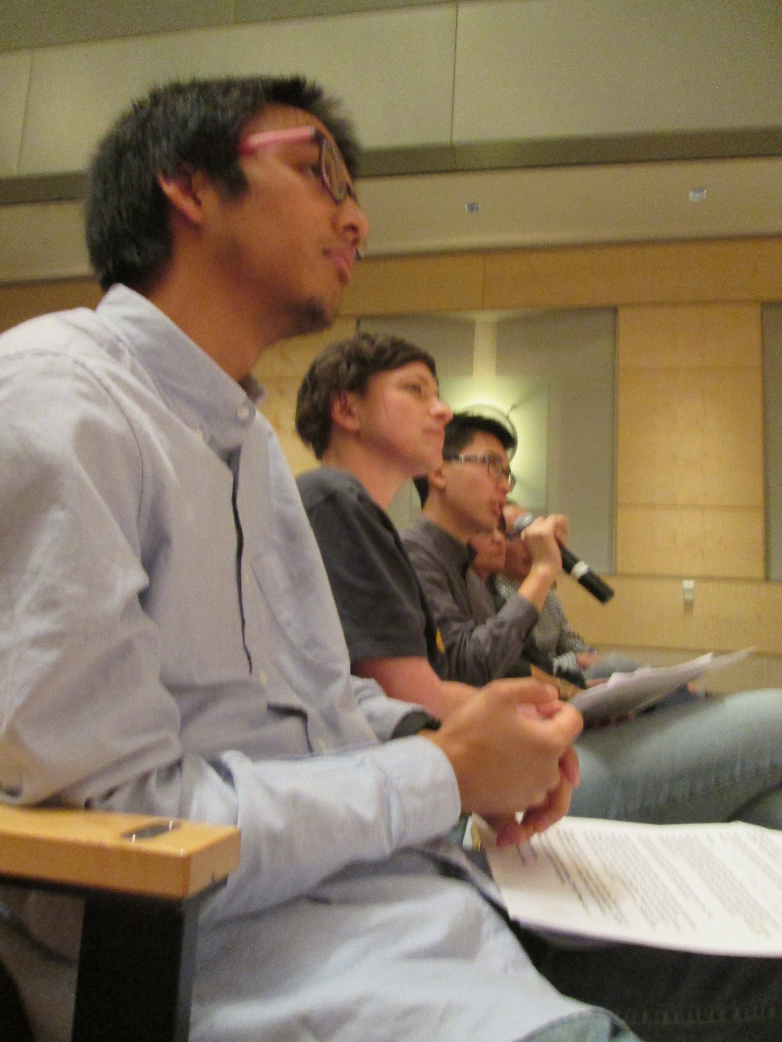 Final Pitch Judges Q&A: Marc Robert Wong (Stanford, TeenTechSF), Mary Abler (The Mix), Austin Tsang (UC Berkeley)
