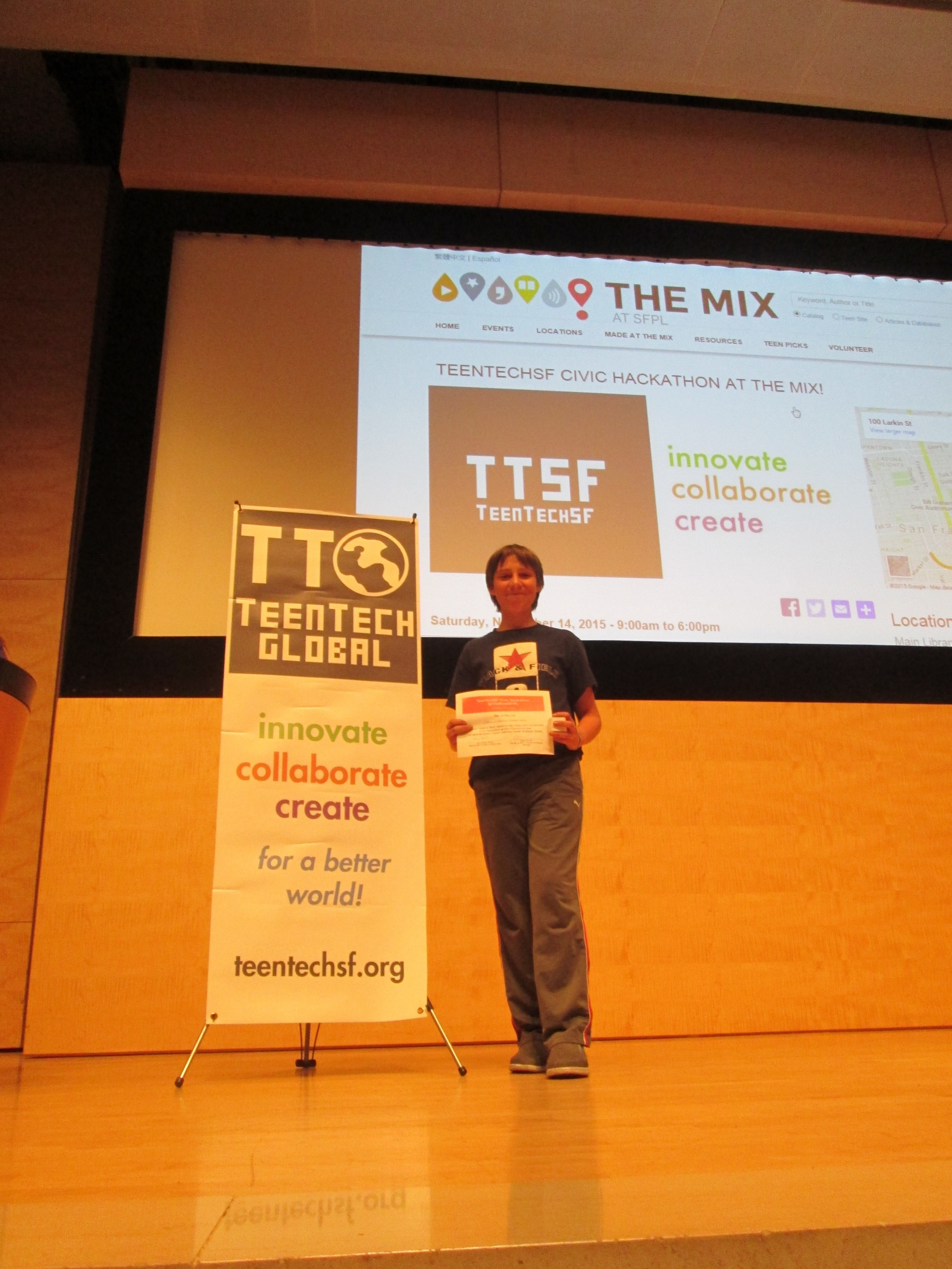 Best 1st time hacker: Drew Pilkinton, South Tahoe MS