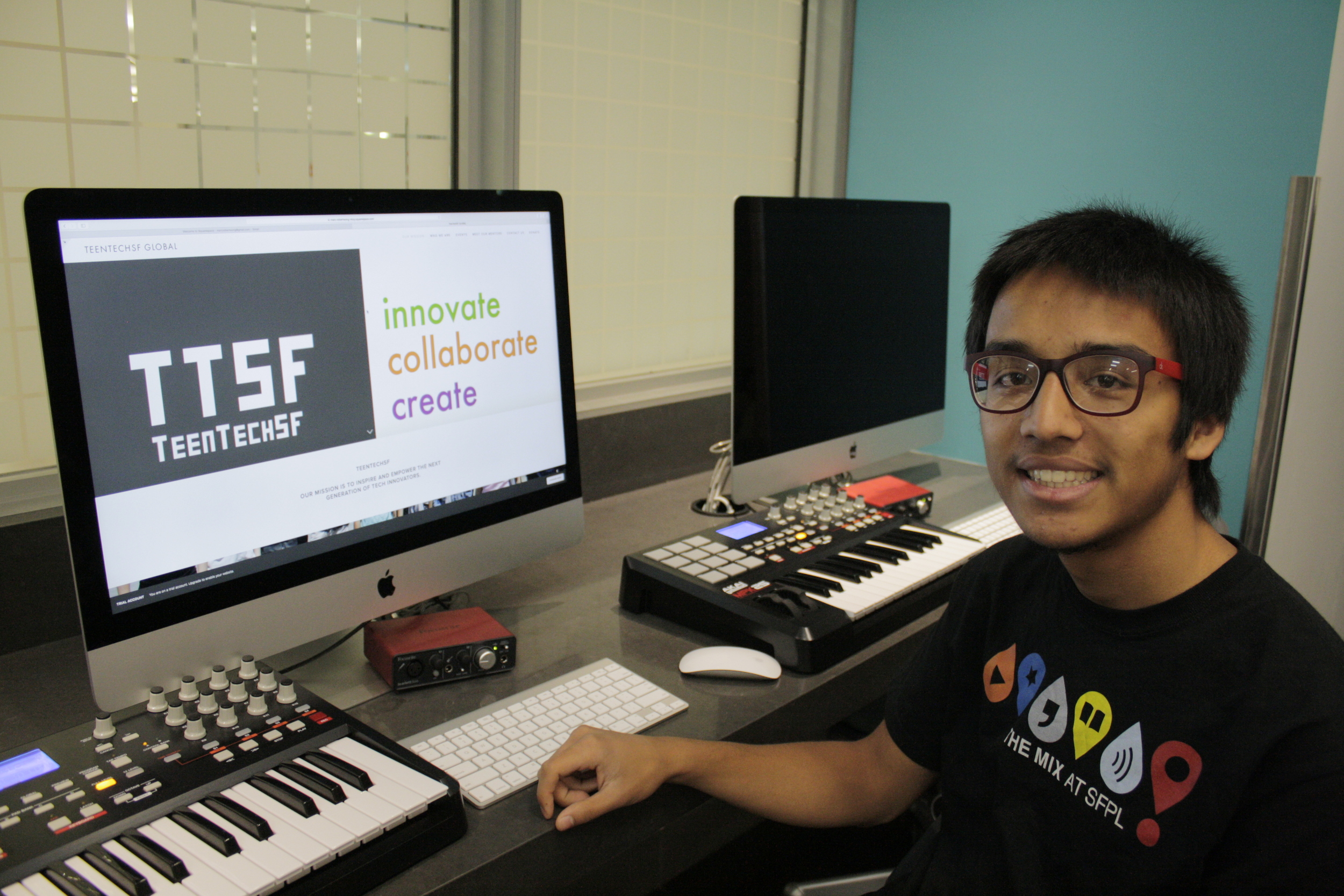 Marc Robert Wong, TeenTechSF Founder & Global Chair and Founding Member, TheMixatSFPL Board of Advising Youth
