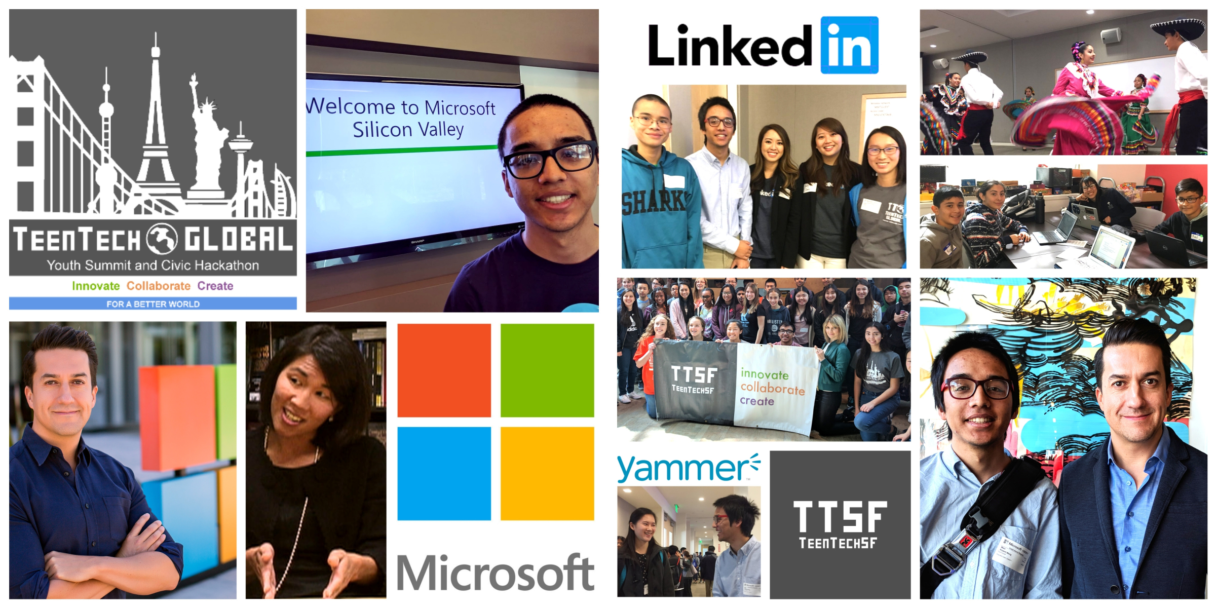 GYS 2017 Microsoft LinkedIn Yammer Raices de Mexico TTSF Collage.jpg
