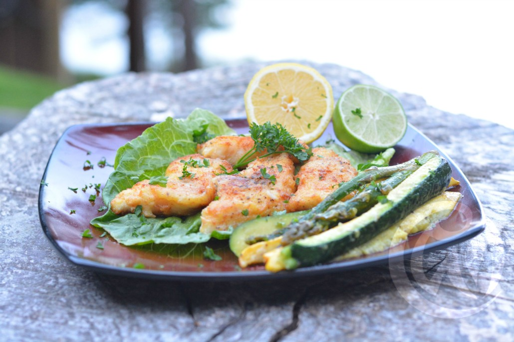 Pan fried lingcod ala West Coast Primal. Click the photo for the full recipe!