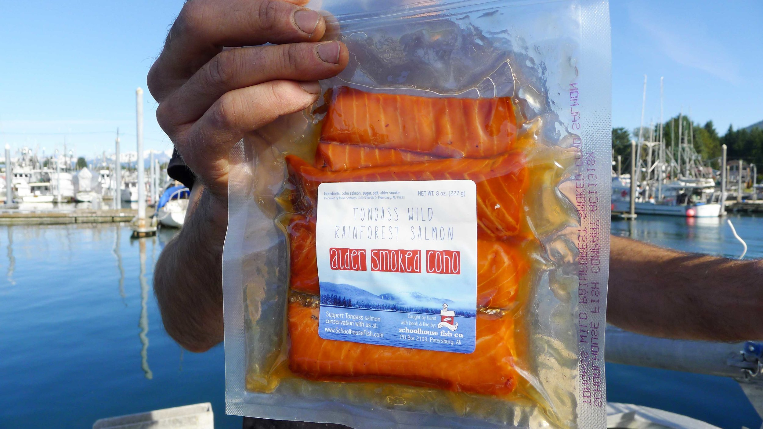 10% of profits from our Alder-Smoked Coho sales go to our Tongass giving program.