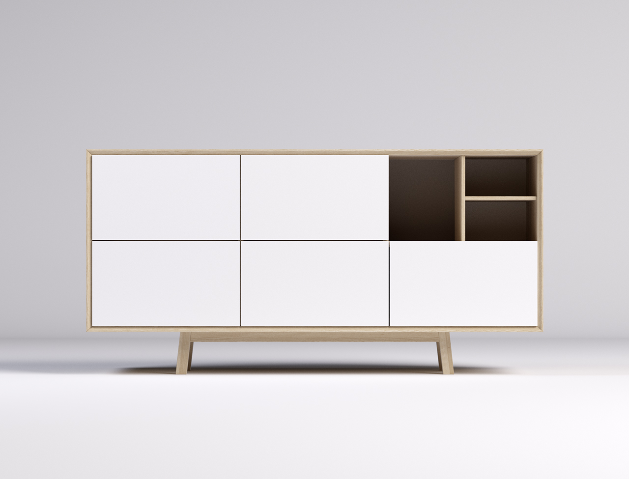 Modern Storage Unit Model Studio