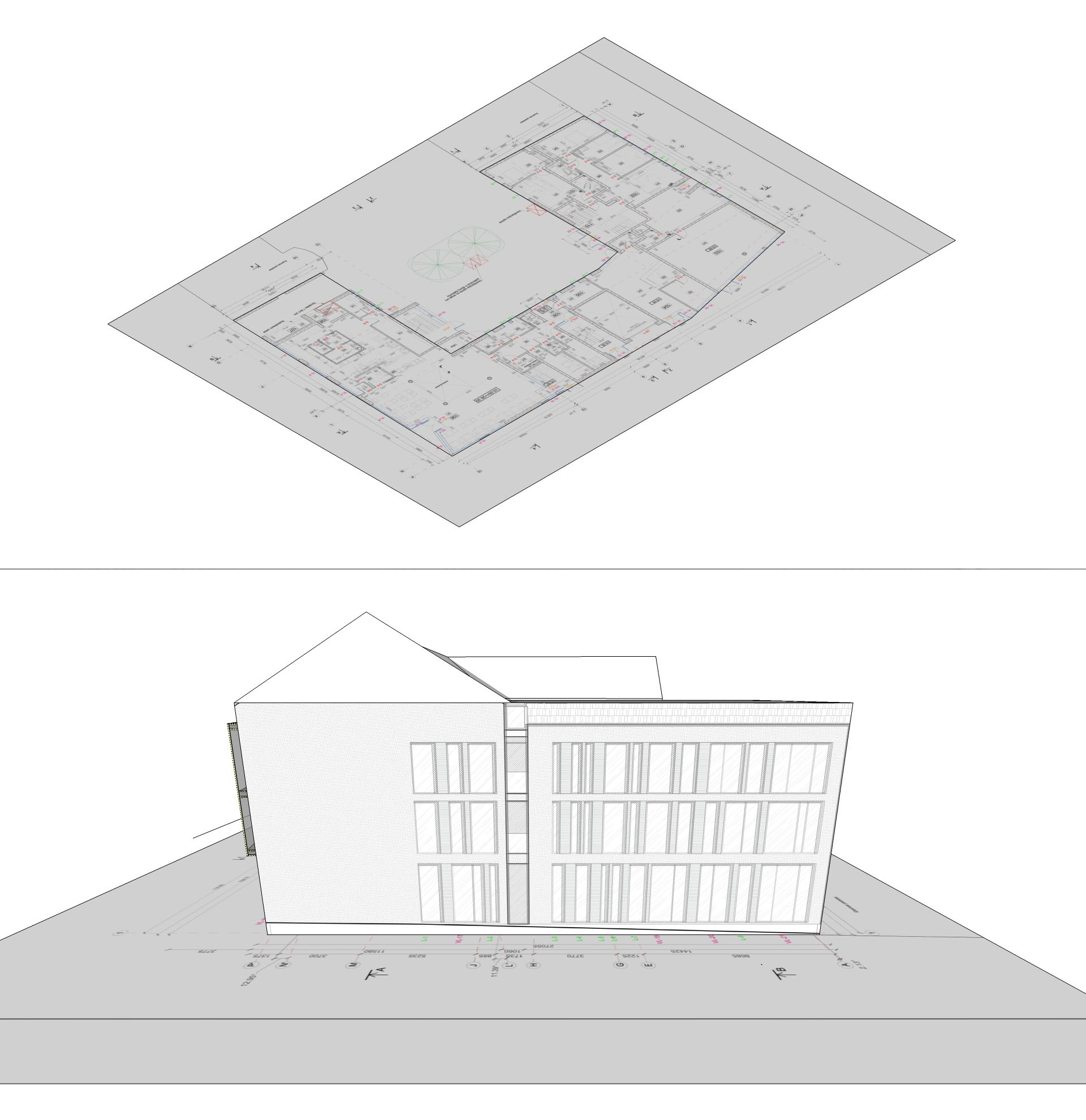 Sketchup modeling with jpg's on geometry. – 3D architect.