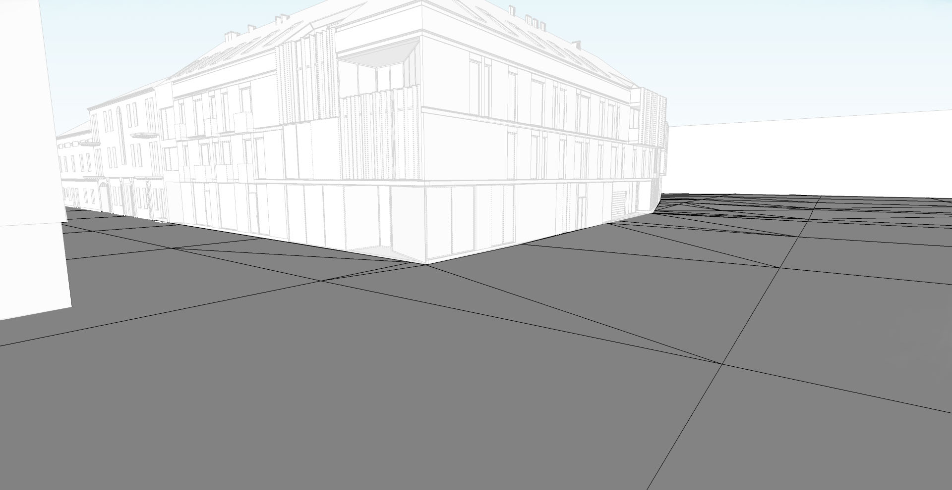 Basic landscape modelling with sketchup. 3D architect