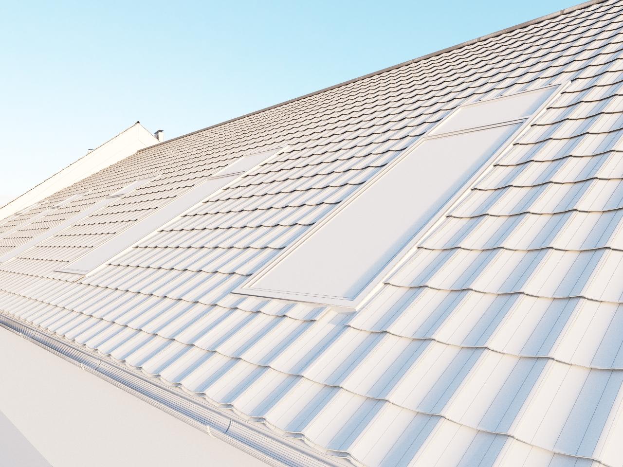 Batlzal Roof Designer plugin were used to model tiled roof. 3D Architect.