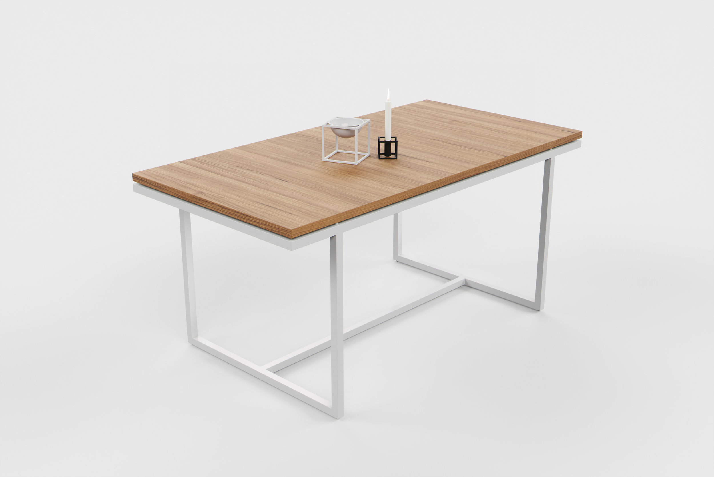Dining table 3D visualisation