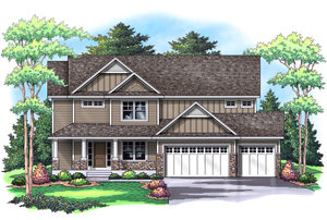 CREEKSBEND II    2,488 Finished Sq Ft 4 Bedroom 2.5 Baths