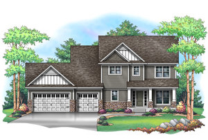 M  EADOWVIEW   2,612 Finished Sq Ft 4 Bedroom 2.5 Baths