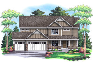 CREEKSBEND   2,488 Finished Sq Ft 4 Bedroom 3.5 Baths