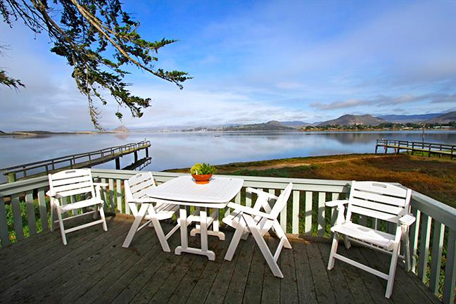 Green Cottage, a Romantic, Waterfront Getaway for Two on Morro Bay