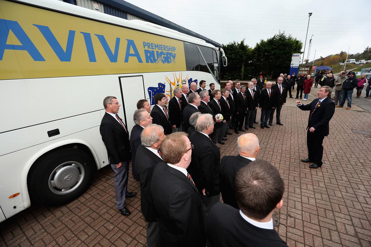 Choir with Aviva bus at Wasps 2.jpg