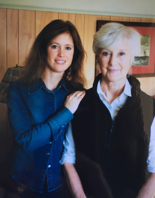 Heidi Furlow (my mom) and her mother, Rosemarie