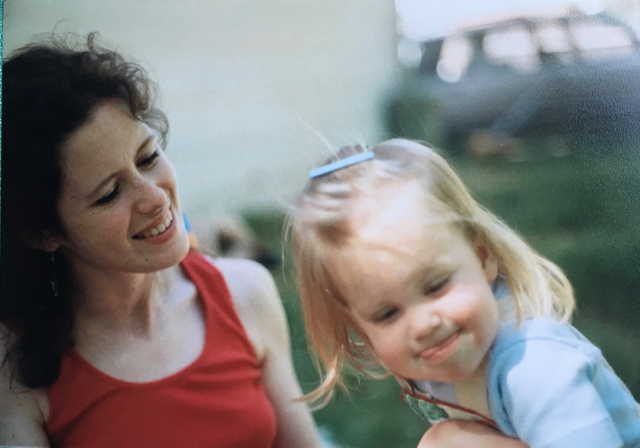 Anna Furlow (my sister) with our mother, Heidi