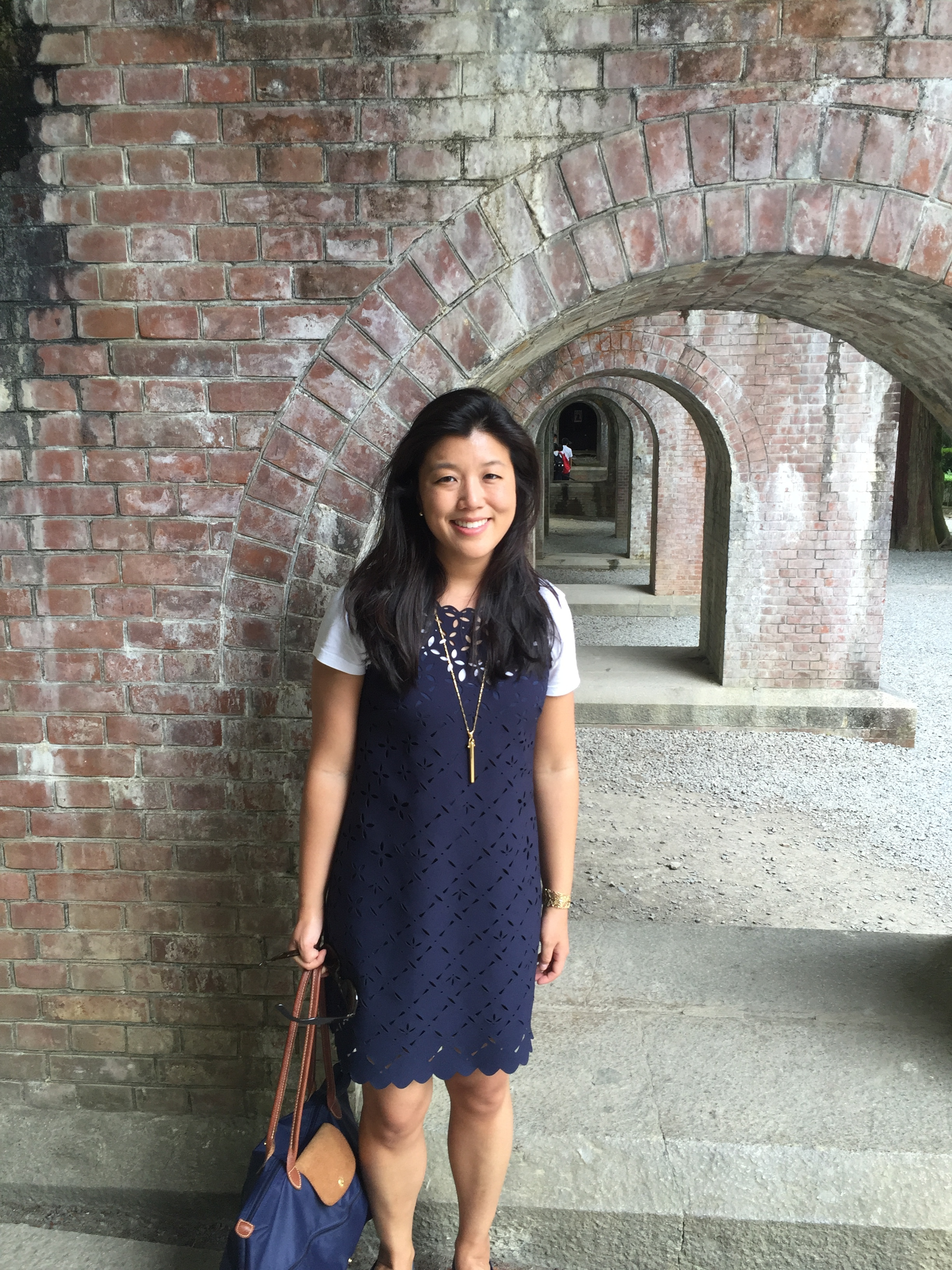 """In Japan this past June. """"This was in Kyoto, at the grounds of Nanzen-ji, a Zen Buddhist temple, by the Roman-style aqueduct. Kyoto is a beautiful, historical city."""""""