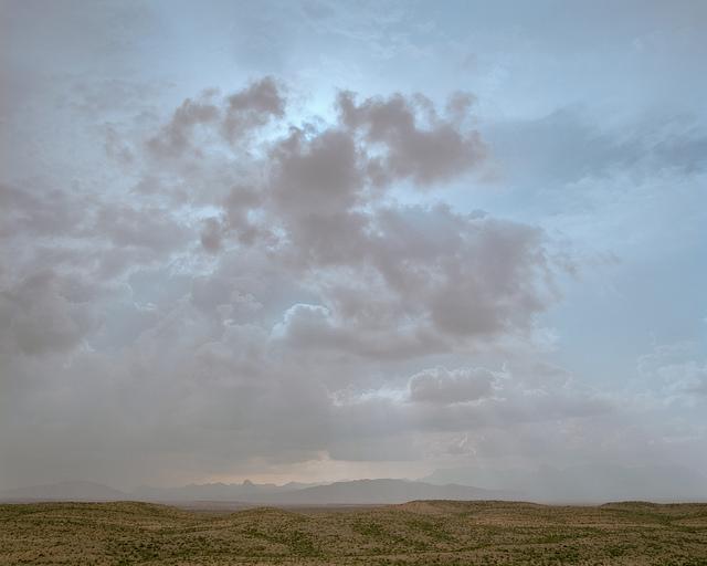 On the southern end of the park facing the Santa Elena mountains of Mexico. Mamiya RZ67, Kodak Ektar 100 film.