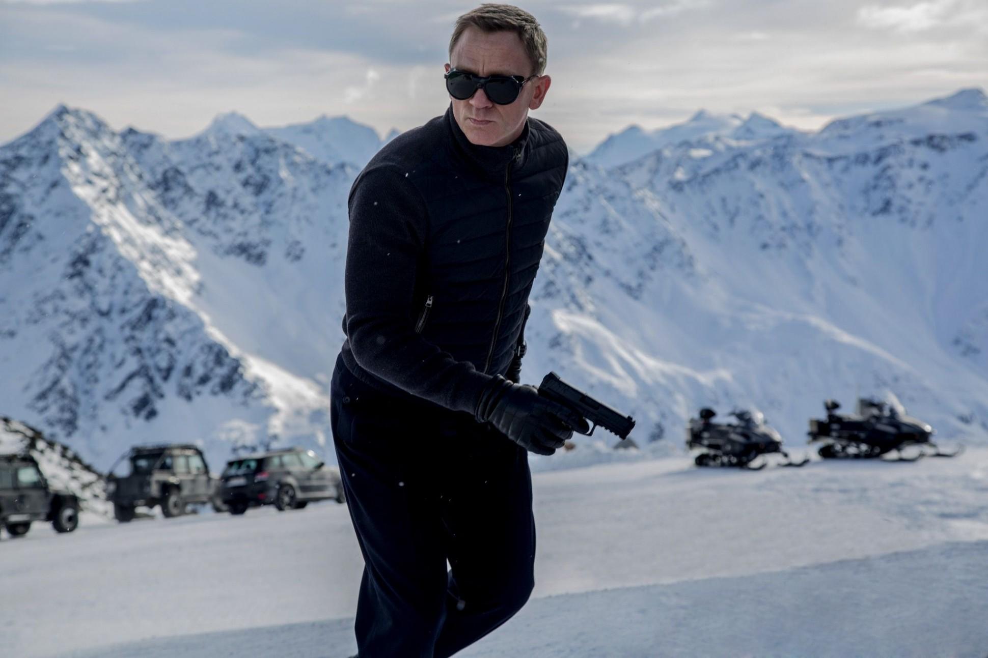 The name's Bond. James Bond.