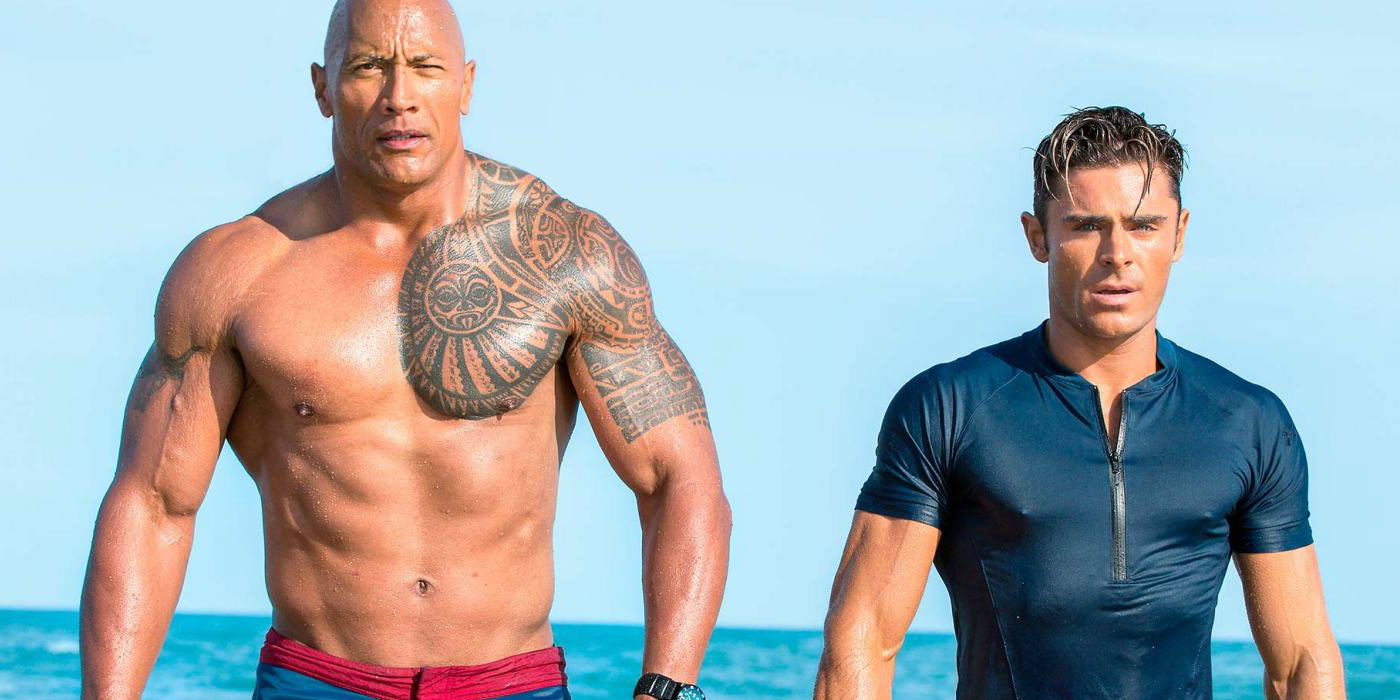 BAYWATCH is released later this month...  - Released later this month...