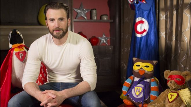 Chris Evans returns to Cbeebies for a Father's Day bedtime story.