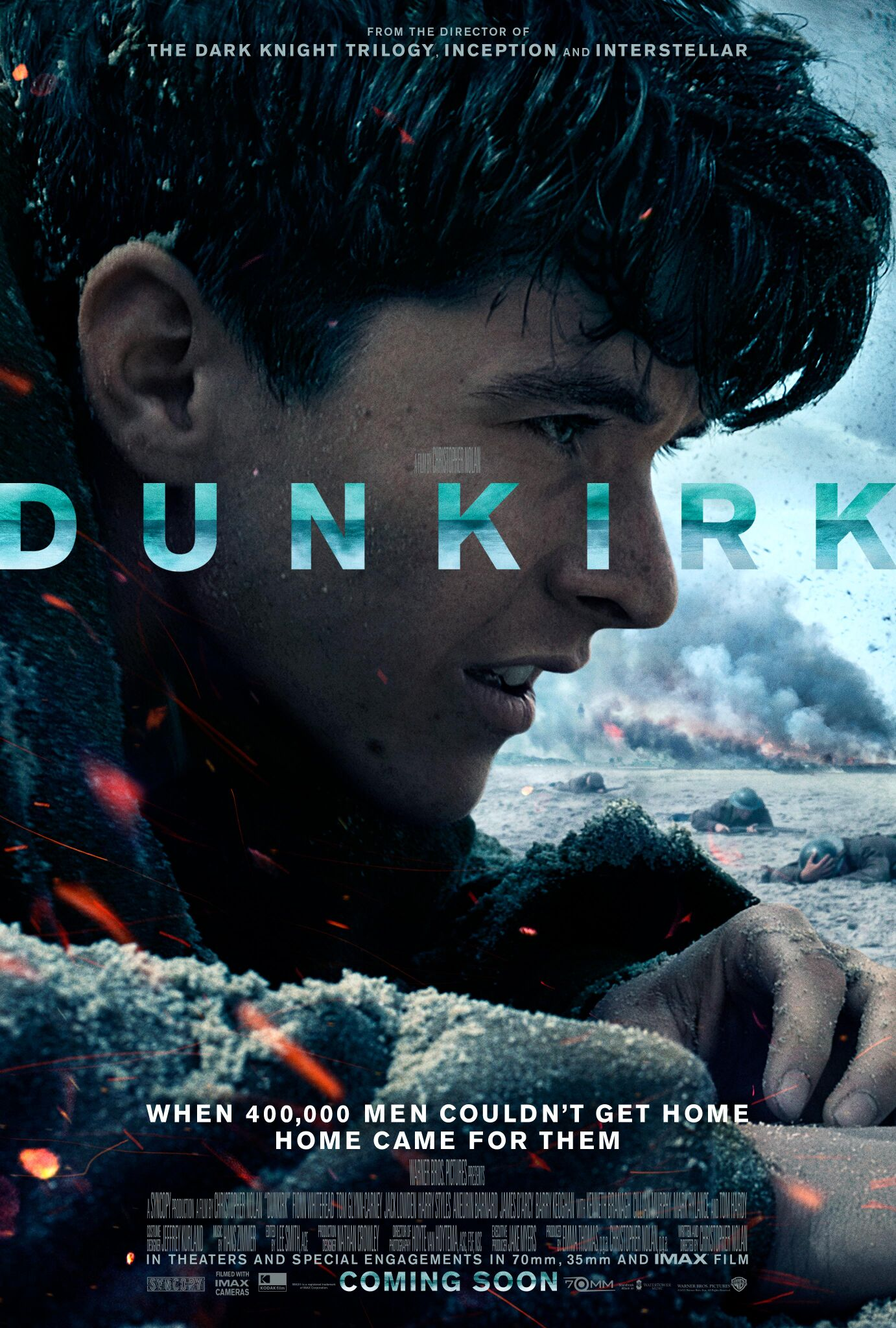 The Dunkirk World Premiere takes place this Thursday in London
