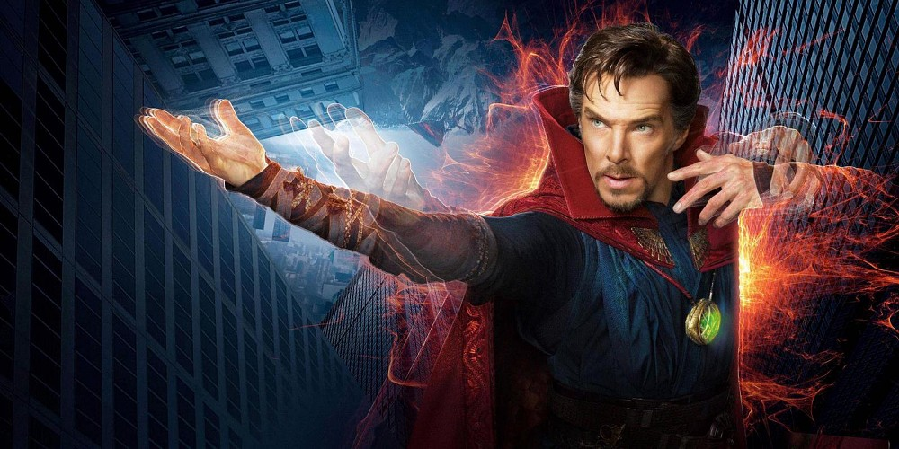 Doctor Strange is today's premiere on Sky Cinema