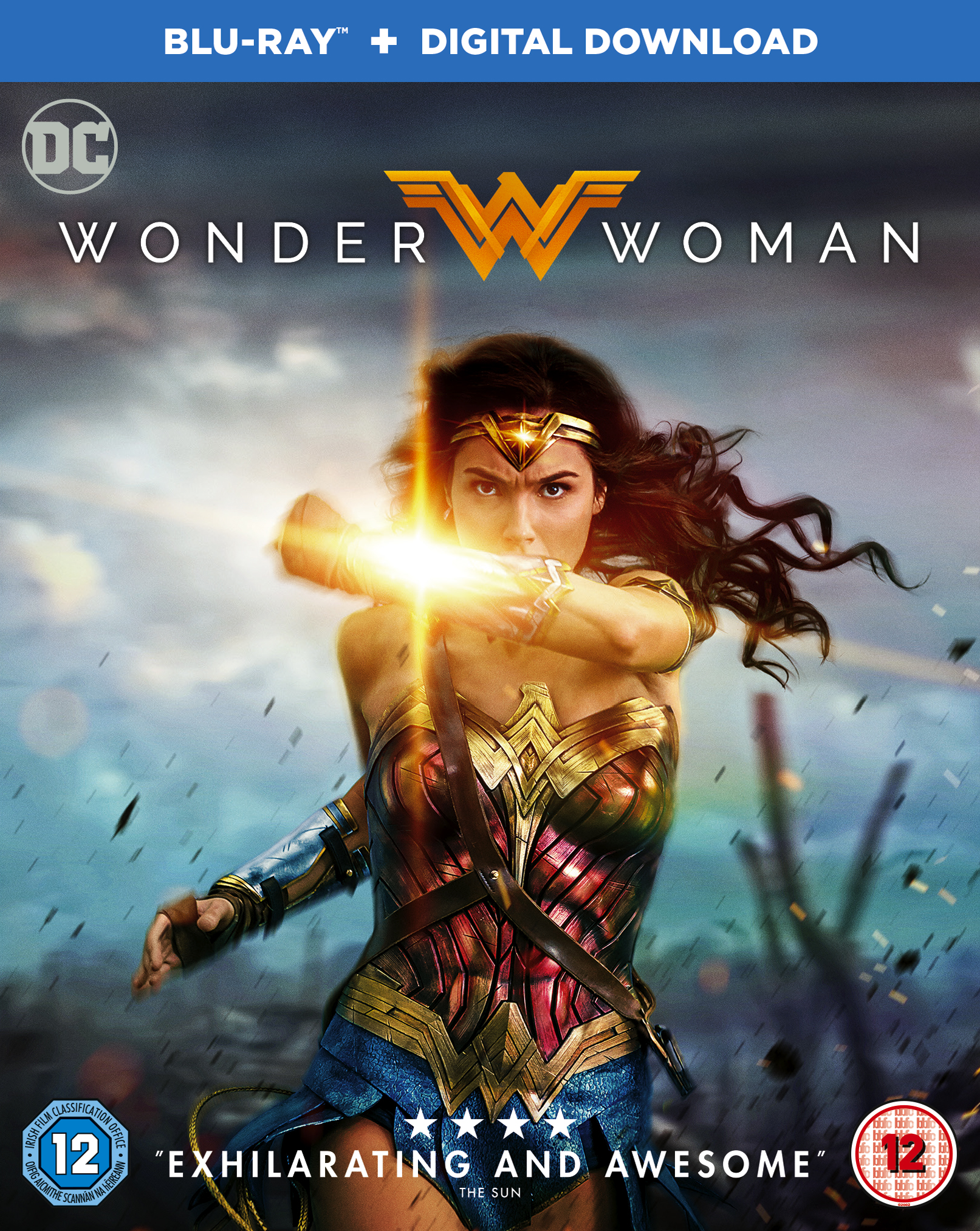 Wonder Woman comes to DVD and Blu Ray