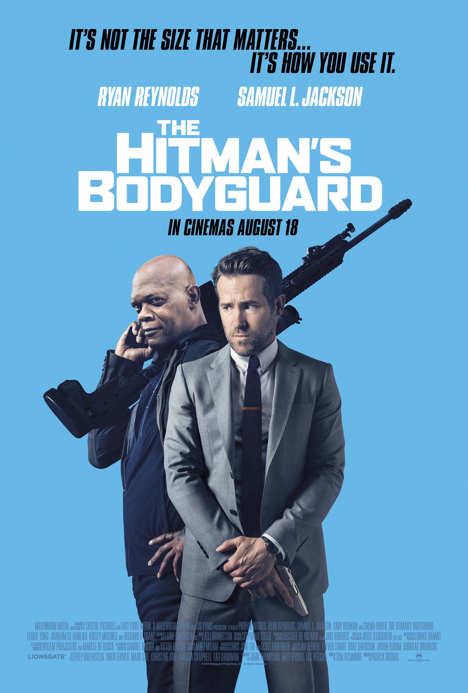 the hitman's bodyguard poster