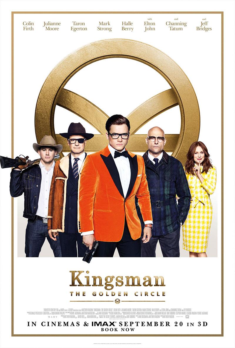 KINGSMAN THE GOLDEN CIRCLE POSTER