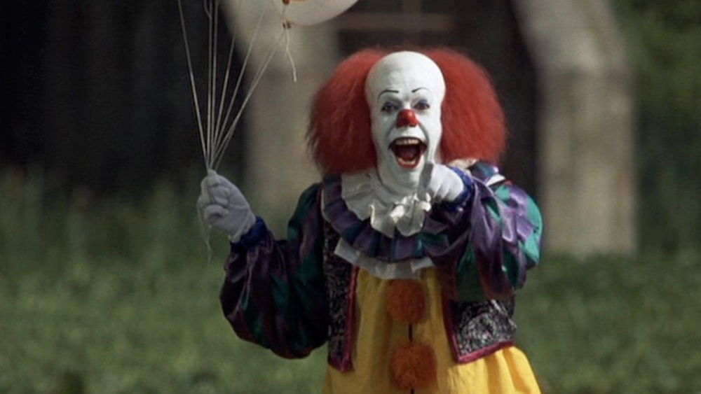 The original It had a touch of the Ronald McDonald's about him.