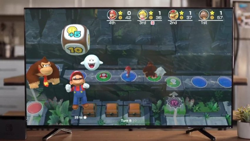 Super Mario Party was previewed at E3 today