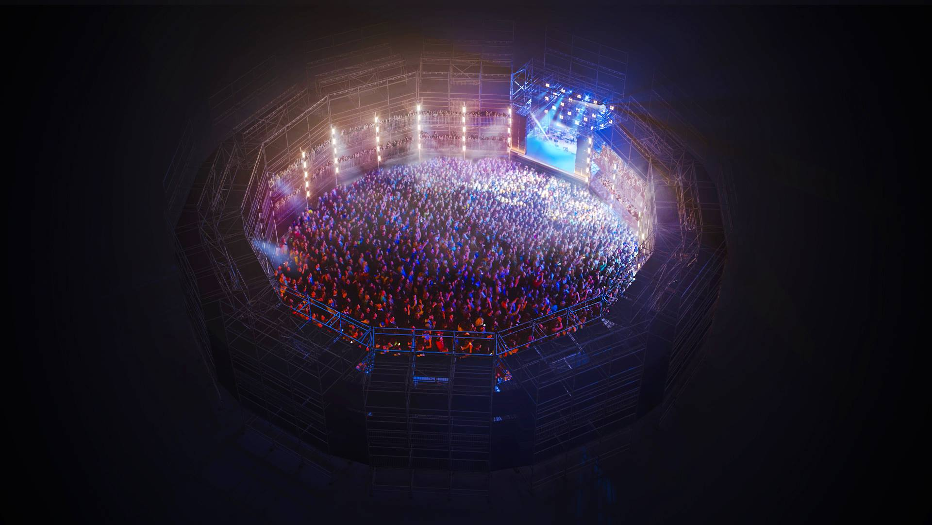 The incredible new Silo arena at Creamfields 2018