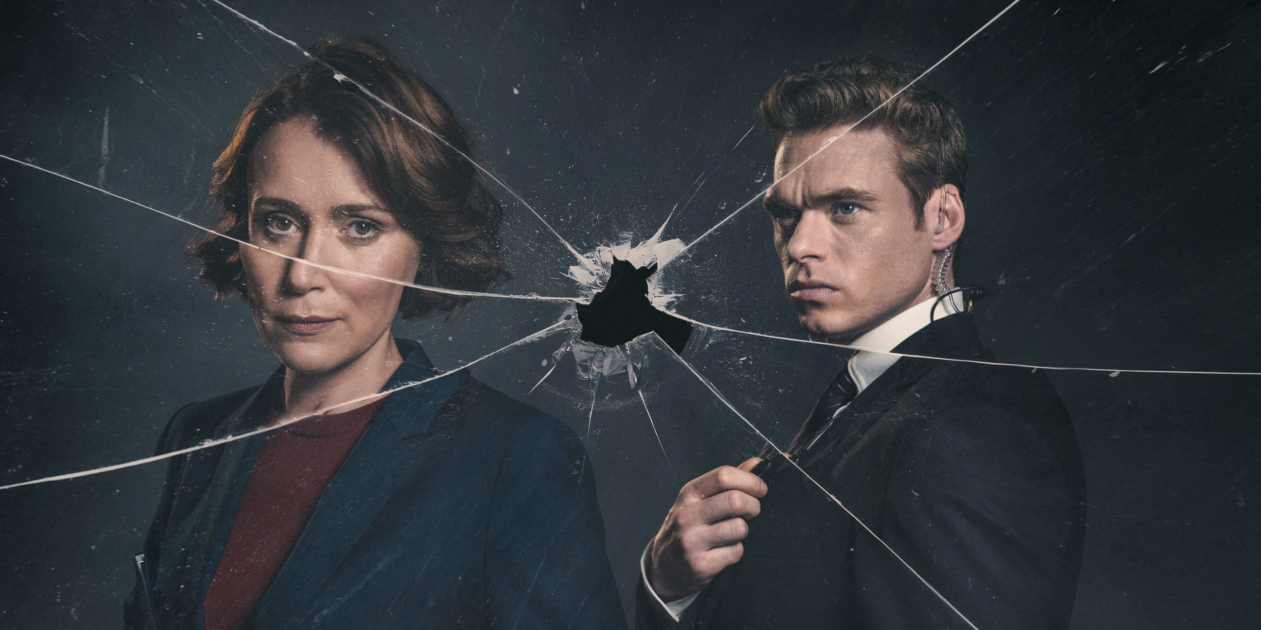 Keely Hawes and Richard Madden star in Bodyguard