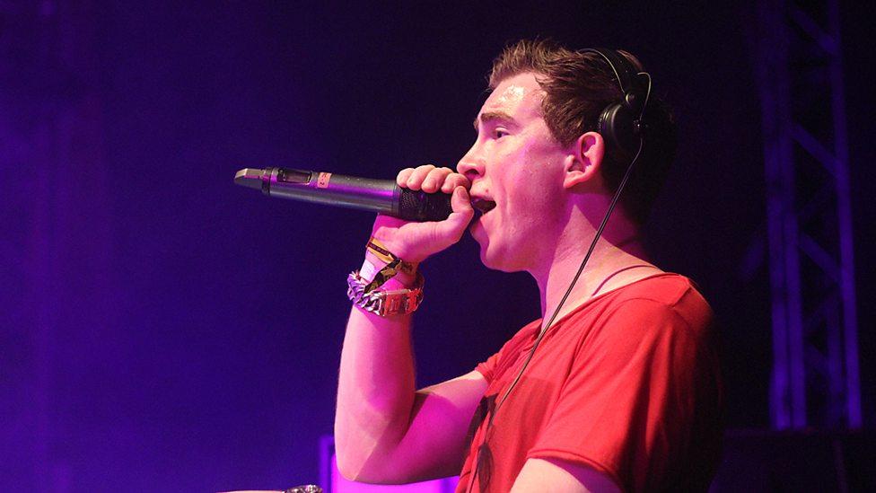 (C) BBC Hardwell in Ibiza for BBC Radio 1