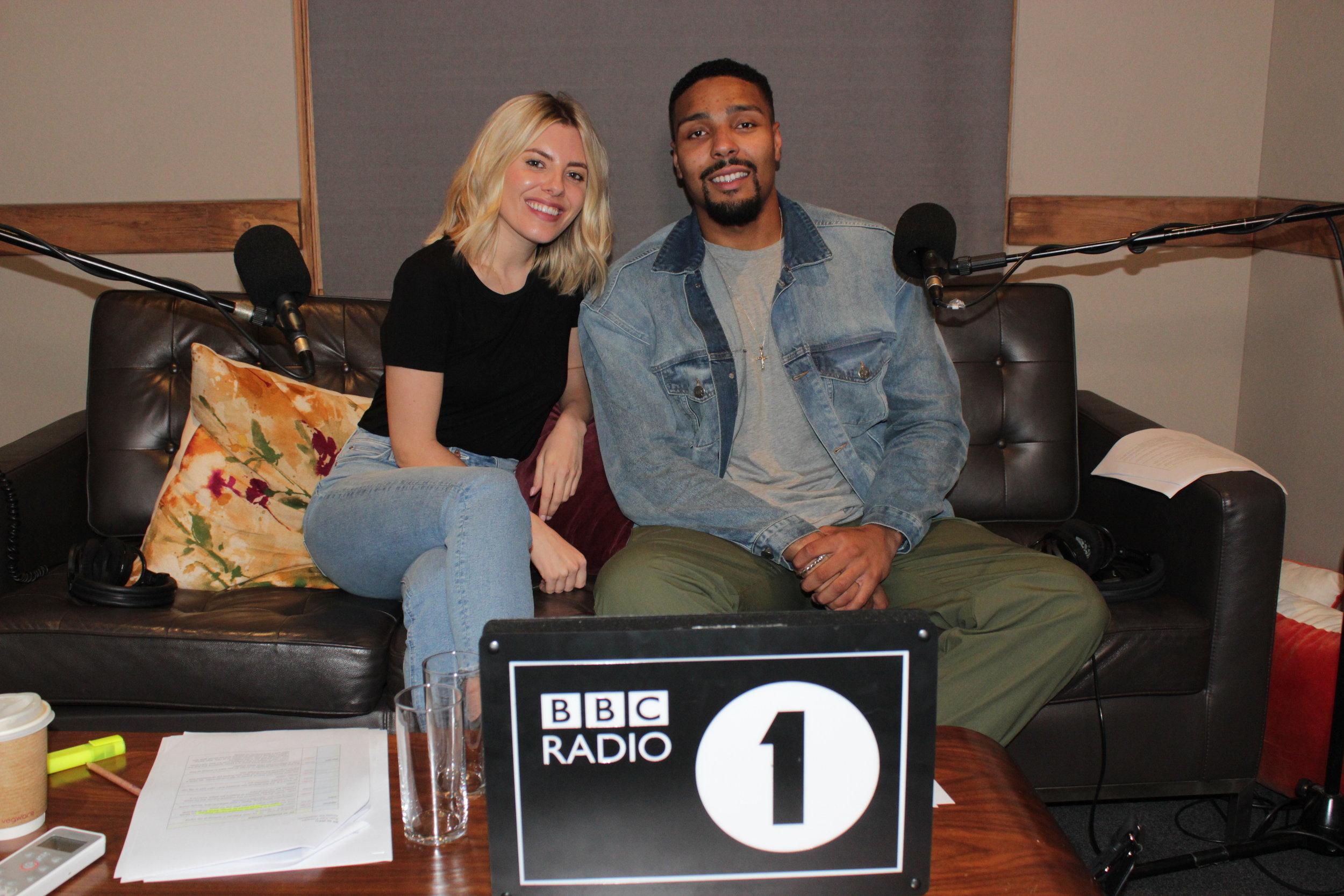 Jordan Banjo and Mollie King - The Greatest Dancer Podcast - Please credit BBC Sounds.JPG