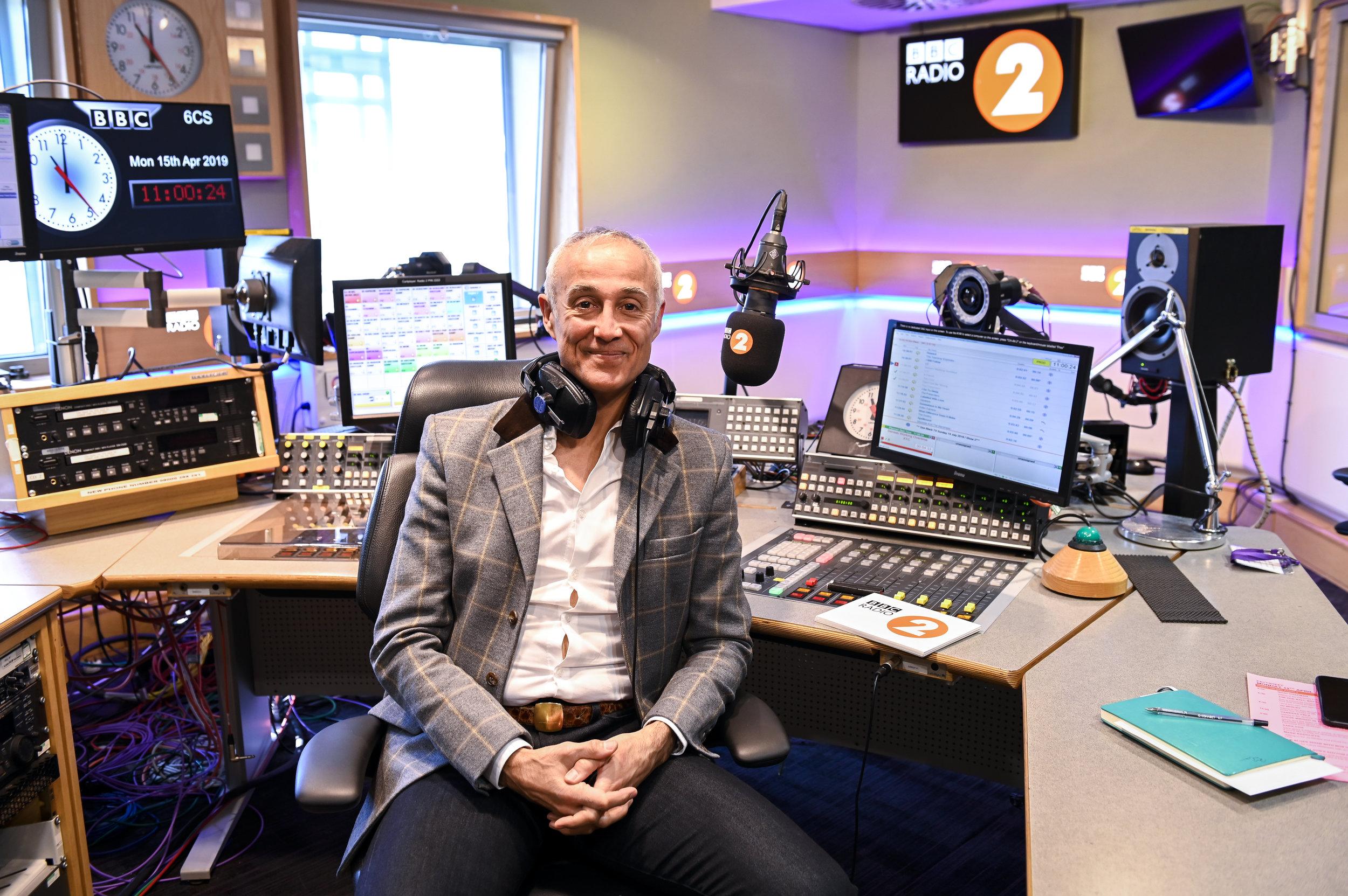 Andrew Ridgeley BBC Radio 2