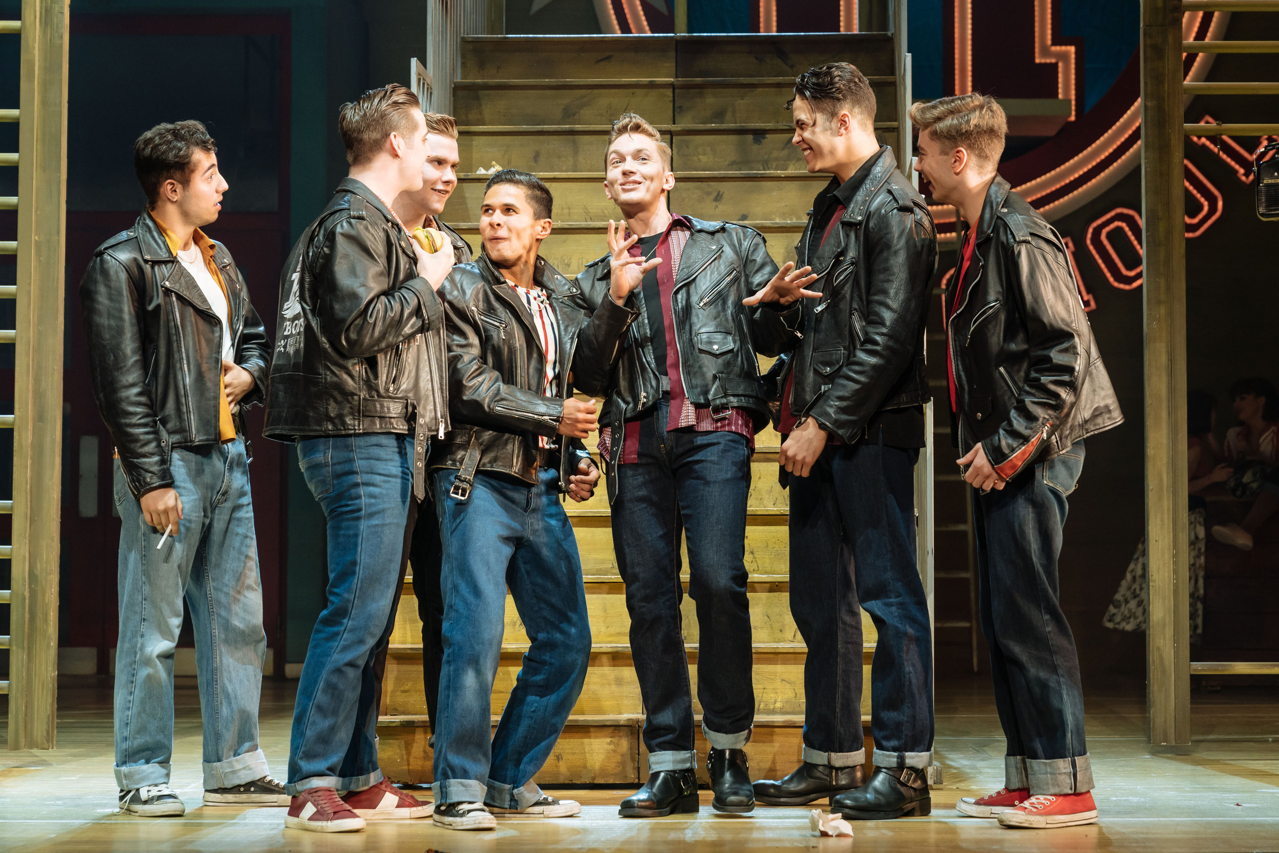 The Burger Palace Boys in the UK and Ireland tour of GREASE, credit Manuel Harlan.jpg