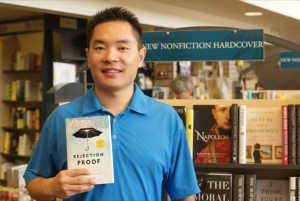 Jia Jiang's attempts at rejection therapy led to the publication of his 1st book, Rejection Proof.