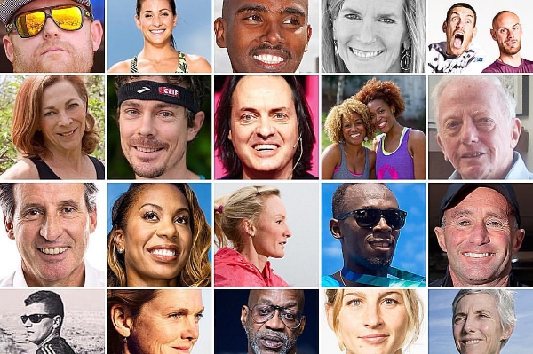 Proud to be counted among the Top 50 Influencers in running worldwide in 2015!