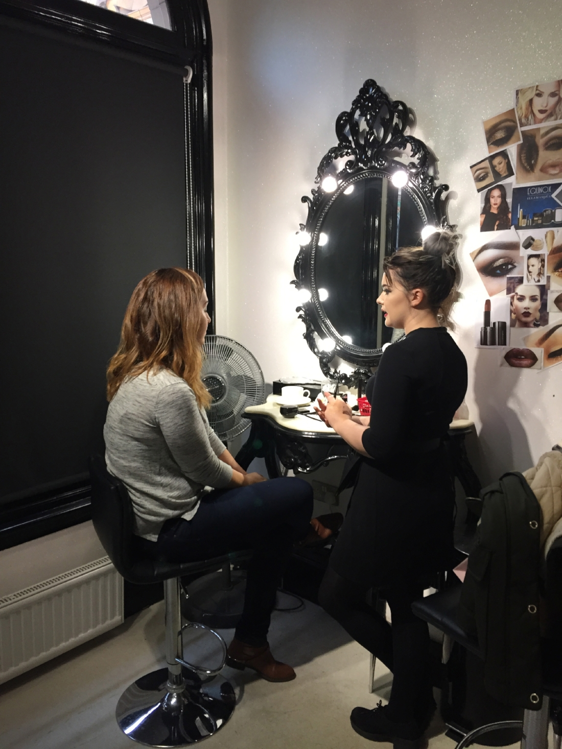 This Pampered Life's Star getting personal Make up tutorials from professional MUA...