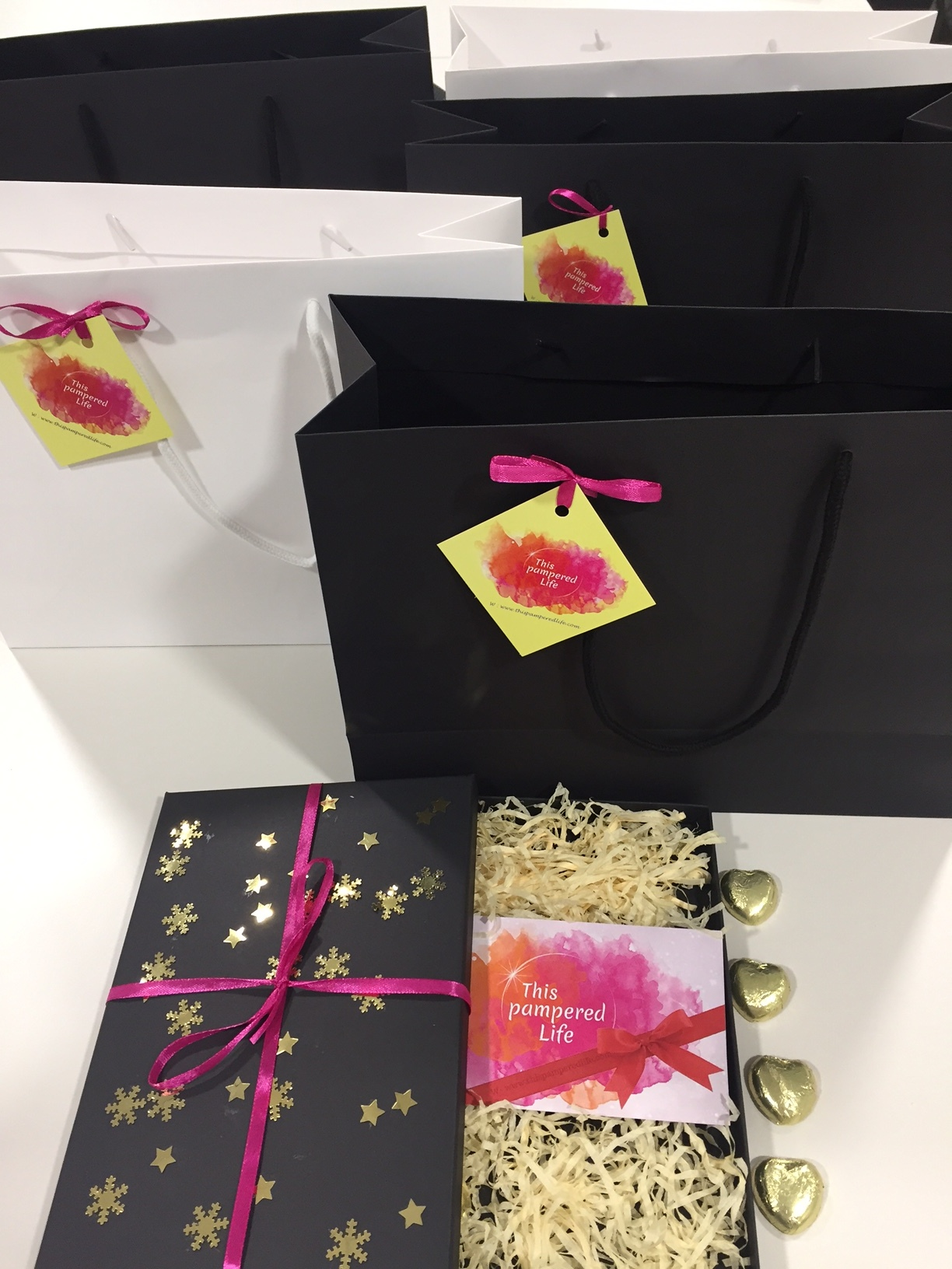 Personalised luxury gift vouchers